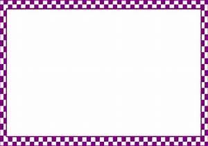 Checker Border Frame Clip Art at Clker.com - vector clip ...