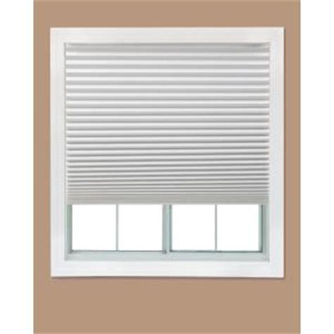 Home Depot Ceiling L Shades by Redi Shade White Paper Light Filtering Pleated Shade 48