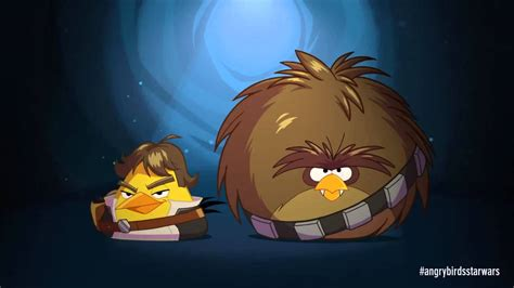 angry birds star wars han solo chewbacca trailer youtube