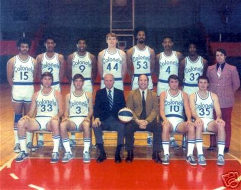 aba kentucky colonels rosters
