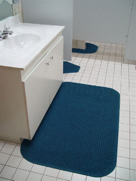 Toilet Floor Mats by Bathroom Sink Mats Are Anti Bacteria Restroom Mats By