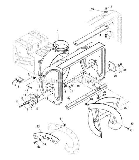 Ariens Parts List Diagram