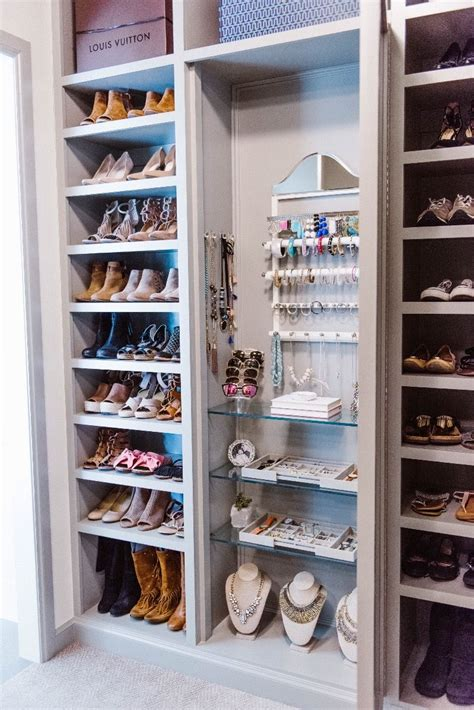 Closet Organization Ideas Shoes by Master Closet Organization Ideas Curls And Home