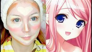 Anime Face Contouring - YouTube
