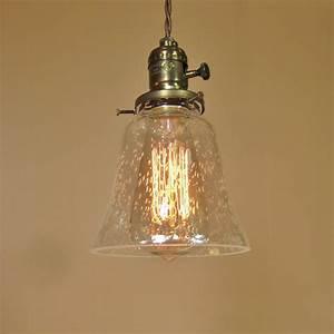 Mini pendant light antique vintage reproduction by