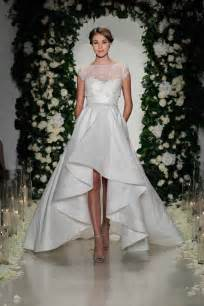 wedding dresses high low port 39 s wedding dress get the high low look inside weddings