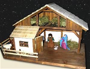 Weihnachtskrippe Holz Selber Bauen : weihnachtskrippe bauen basteln bauanleitung ~ Buech-reservation.com Haus und Dekorationen