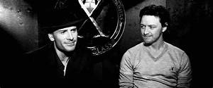 James & Michael - James McAvoy and Michael Fassbender Fan ...