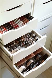 Make Up Schrank : make up organizer acrylbox oneforall 39 f cher individualisierbares stecksystem passgenau ~ Frokenaadalensverden.com Haus und Dekorationen