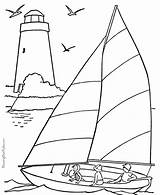 Nautical Coloring sketch template