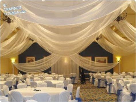 how to drape a ceiling for wedding reception w drapings florida ceiling drapings and wedding chiffon