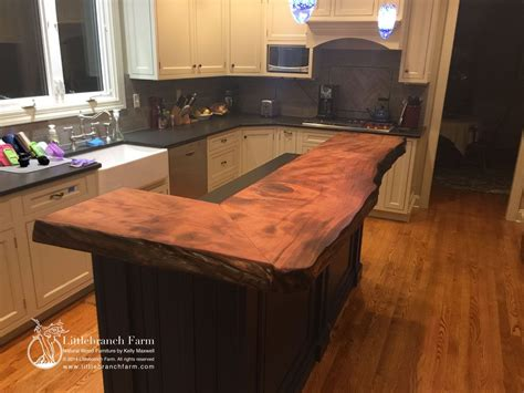 natural wood countertops  edge wood slabs