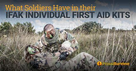 ifak aid individual soldiers kits contents primalsurvivor