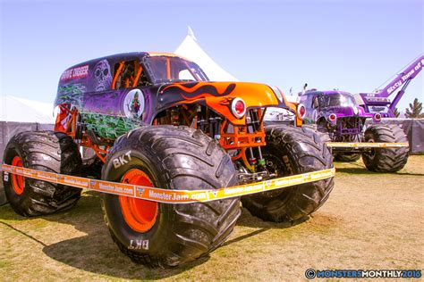 monster jam trucks monster jam world finals pit party monsters monthly