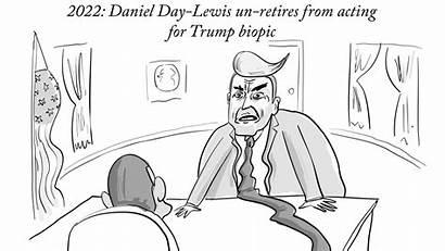 Cartoon Daily Cartoons Yorker Trump July Friday