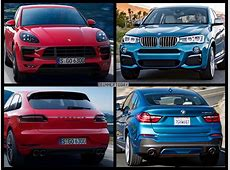 Photo Comparison BMW X4 M40i meets GTS Porsche Macan