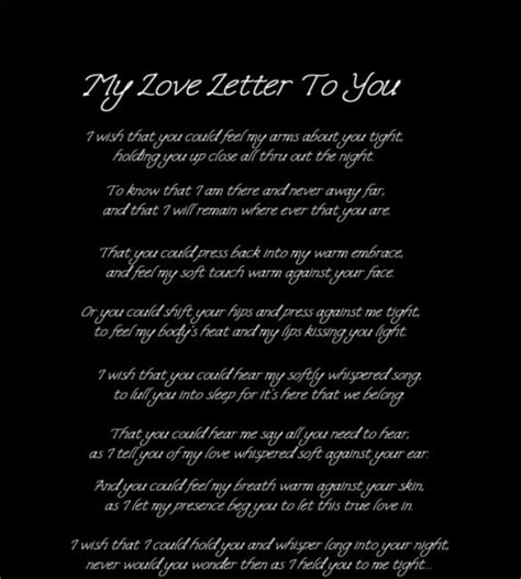 Boyfriend letter my writing love a to how to