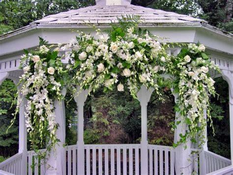 wedding gazebo decorations arches huppas candelabras
