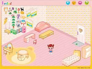 jeux de decoration pour filles With jeux de chambre a decorer