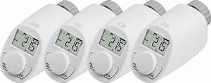 Heizkörperthermostat Mit Fernbedienung : eht classic n s4 heizk rperthermostat 4er pack elektronisch ~ Watch28wear.com Haus und Dekorationen