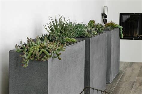 Pflanzen Kübel Beton by Pflanzk 252 Bel F 252 R Innen Schicke Wohnaccessoires F 252 R Den
