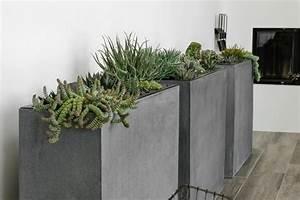 Pflanzkubel fur innen schicke wohnaccessoires fur den for Feuerstelle garten mit pflanzkübel außen beton