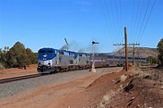 File:Southwest Chief at Bernal, New Mexico, February 2019 ...
