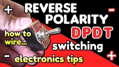 Reverse Polarity Switching Dpdt Switch Wiring
