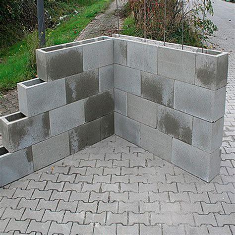 Betonsteine Gartenmauer Preise Mauersteine Steinmauer
