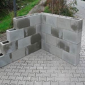 Mauersteine Beton Hohlkammersteine : ehl schalungsstein 50 x 24 5 x 25 cm 5651 so zu steine weinlager schamott fadl steine ~ Frokenaadalensverden.com Haus und Dekorationen