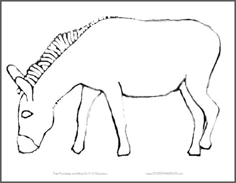 pin  tail   donkey game student handouts