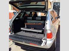 BMW X5 7 seat conversion 1999 > 2006 inc fitting – Van Solve