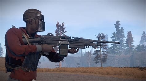 rust m249 guns weapons friend hello say helicopter weapon qtoptens lmg