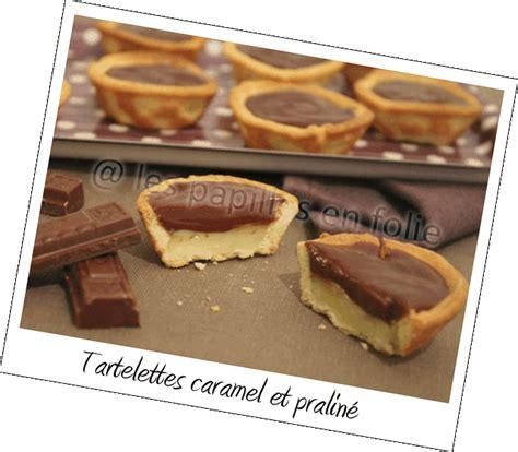 tartelette caramel et pralin 233 blogs de cuisine