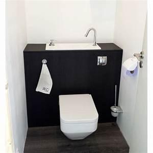Lave Main Suspendu : wc suspendu avec grand lave main int gr wici bati ~ Nature-et-papiers.com Idées de Décoration