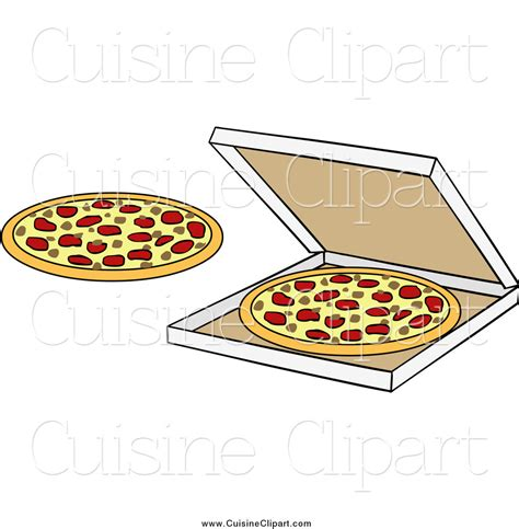 box cuisine mensuel cuisine clipart of pizzas and a box by solutions