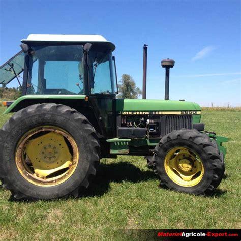 siege tracteur agricole occasion vendu deere 2850 tracteur agricole d occasion