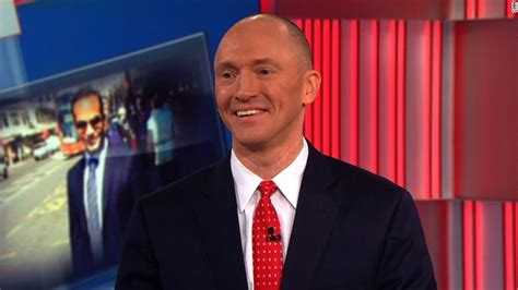 carter page met  russian official   trip