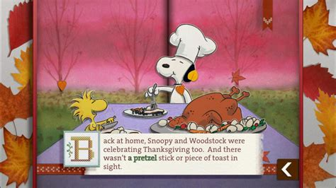charlie brown thanksgiving peanuts read play