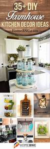 diy kitchen decor ideas 35+ Best DIY Farmhouse Kitchen Decor Projects and Ideas for 2019