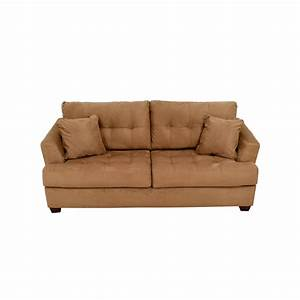 tan microfiber sofa tan microfiber contemporary sectional With convertible sofa bed ashley furniture