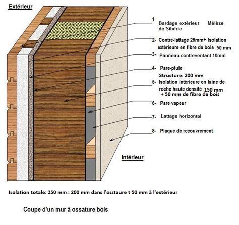mur ossature bois quelles sont les obligations pare vapeur 27 messages