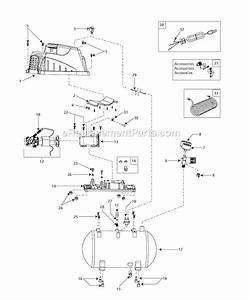 Campbell Hausfeld Oilless Compressor