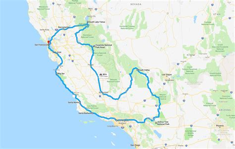 The Ultimate California Road Trip Itinerary The Planet D