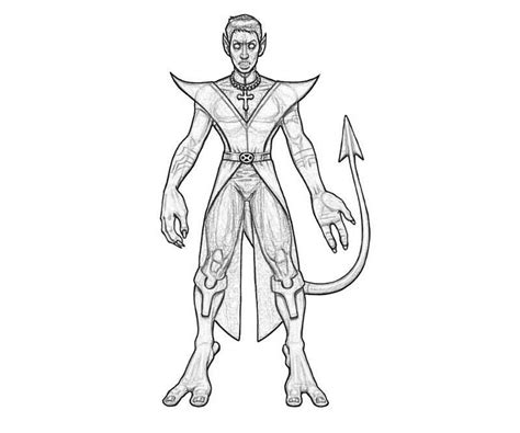 Nightcrawler Coloring Pages Nightcrawler Free Colouring Pages