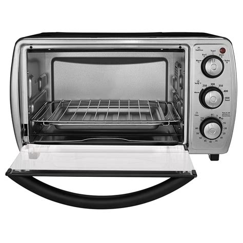 Black Toaster Oven by Oster 174 6 Slice Convection Toaster Oven Black Tssttvcgbk