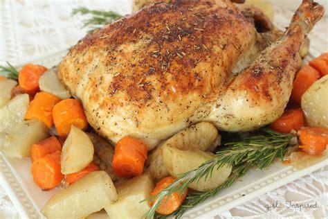 herb roasted chicken herb roasted chicken recipe girl inspired