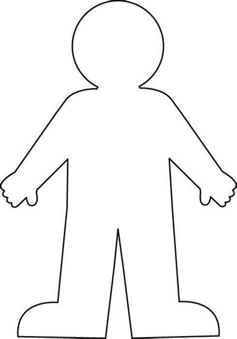 worksheet   blank body outline google search