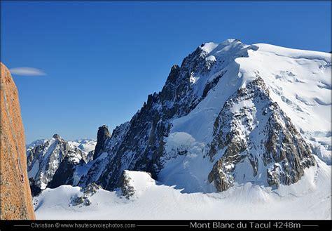 altitude du mont blanc mont blanc du tacul 4248m chamonix