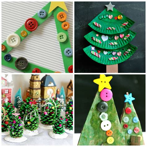 creative christmas tree crafts and activities for kids i